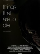 Things That Are to Die