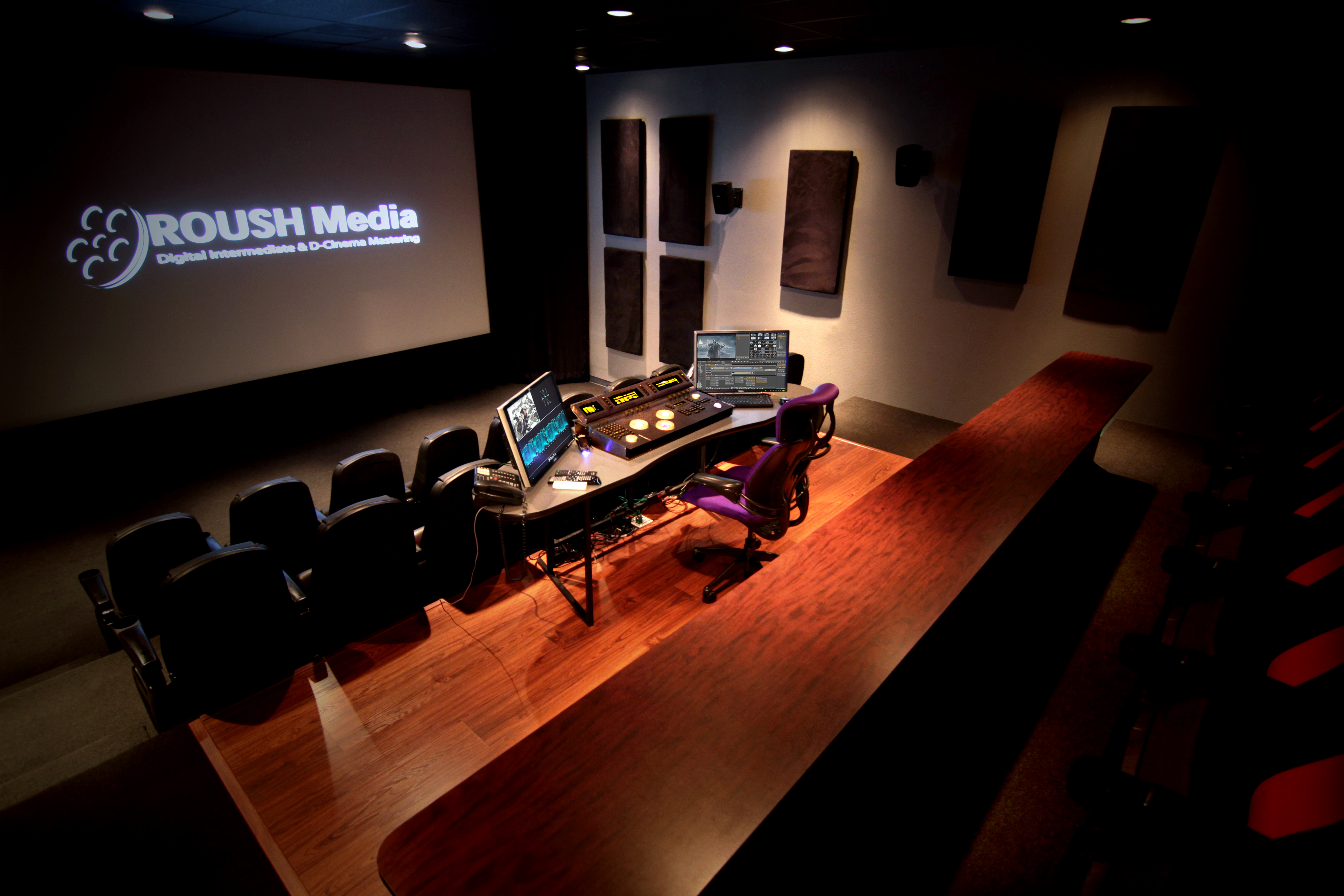 Roush Media DCI compliant Theater