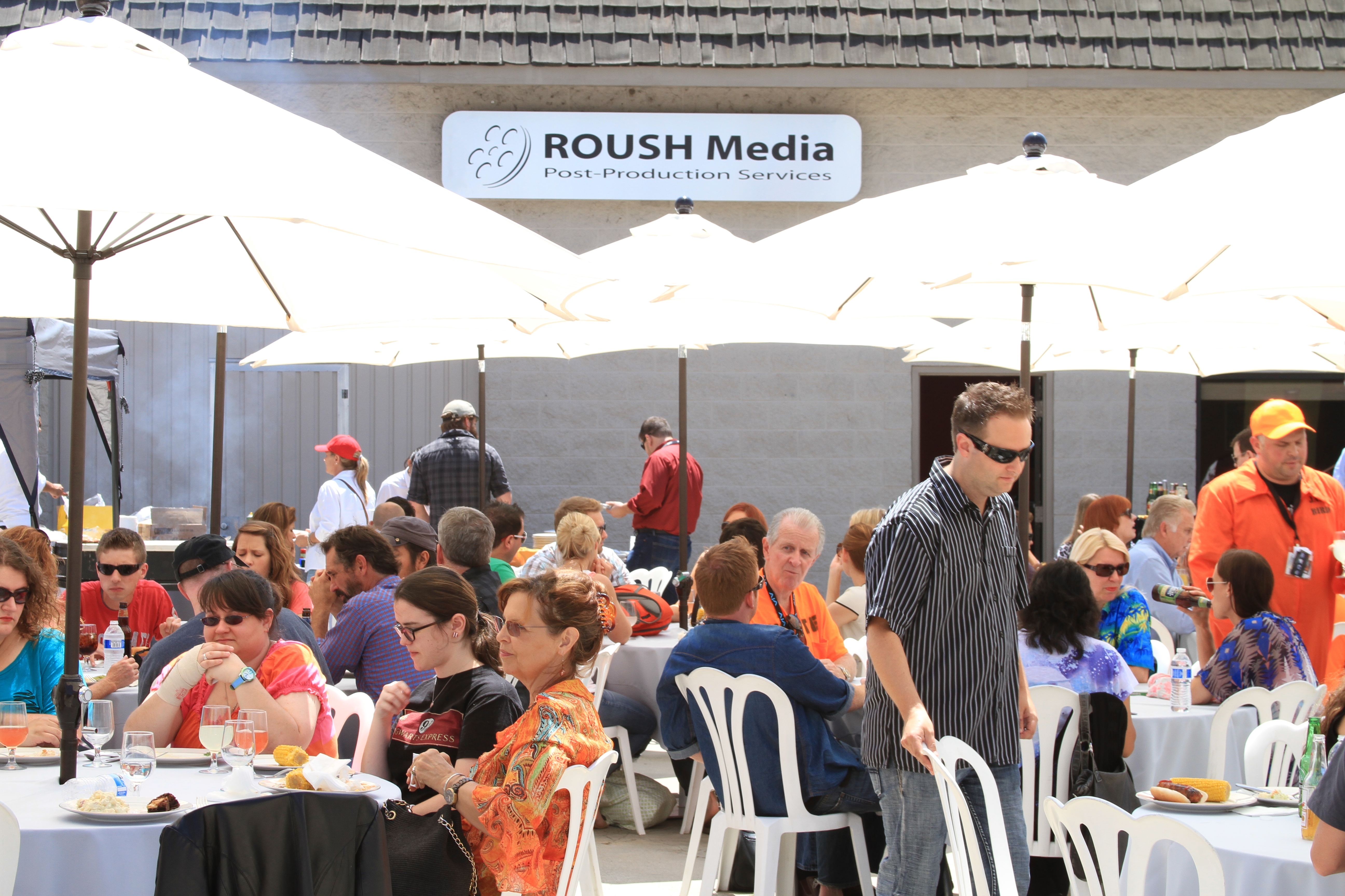 Roush Media 4K workflow event